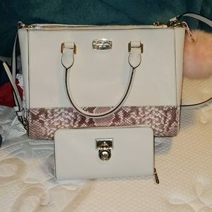 Large MK purse with matching wallet